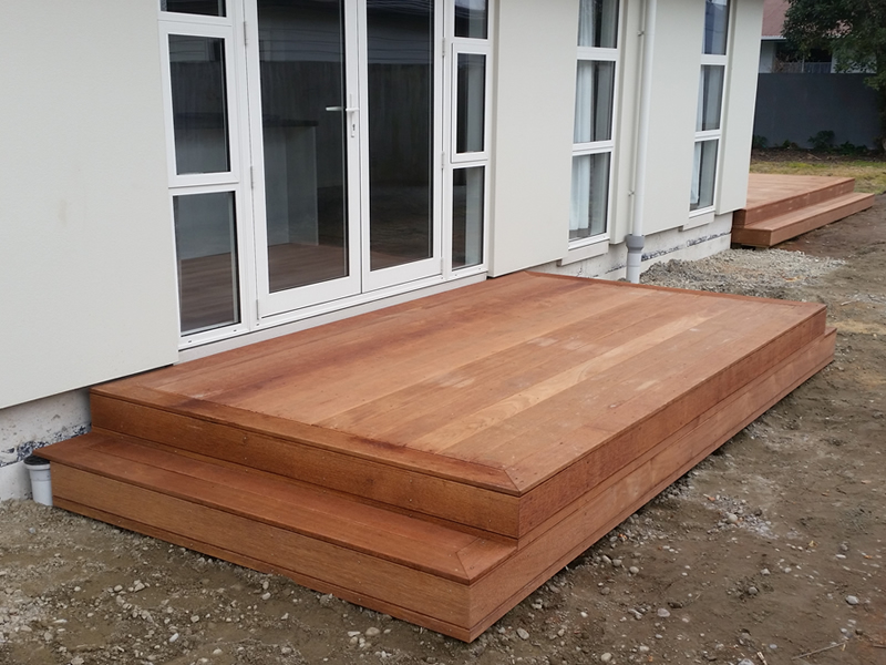 Decking services residential and commercial for Outdoor pavers christchurch